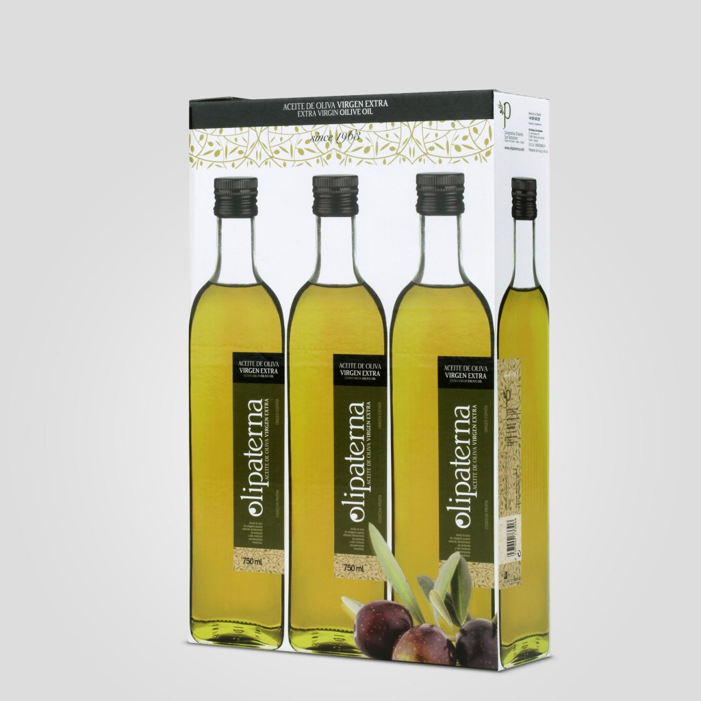 Pack 3 botellas 75 cl Olipaterna