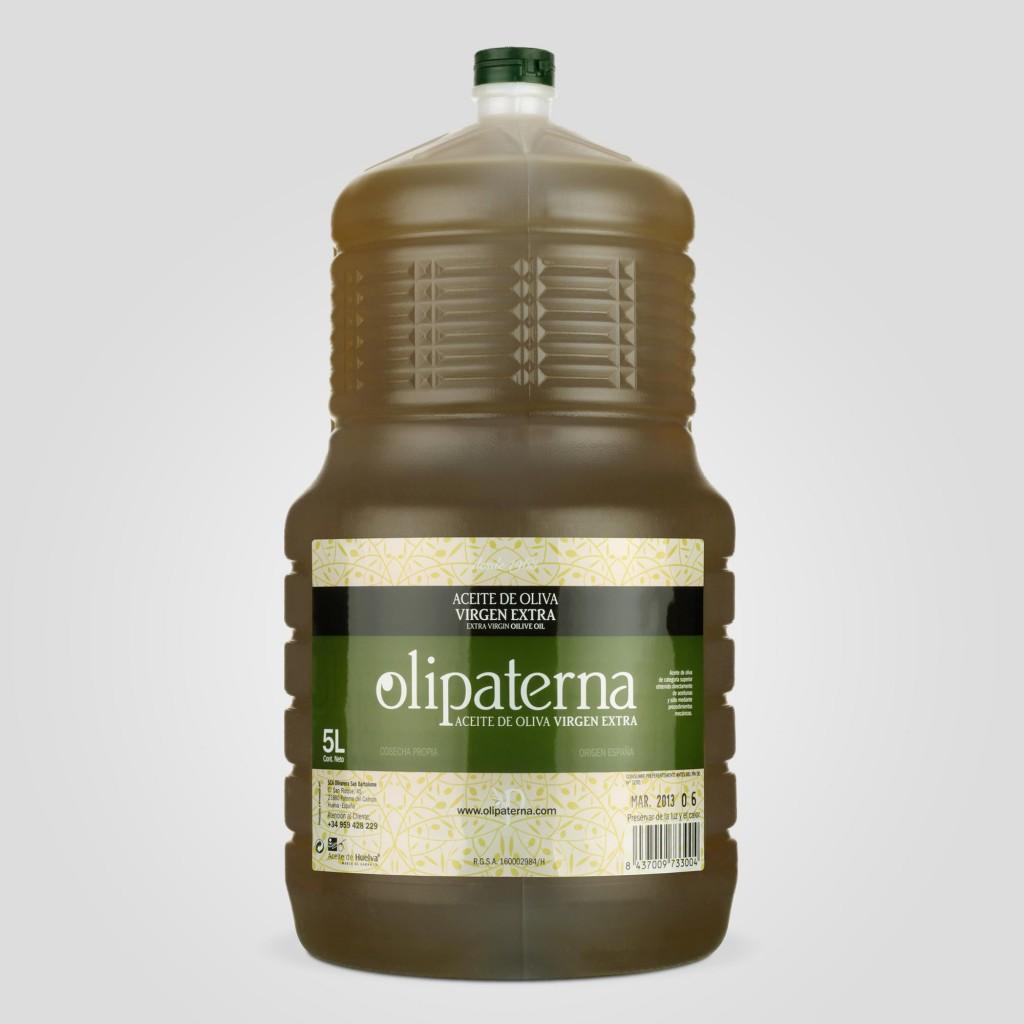 Garrafa 5 litros Olipaterna